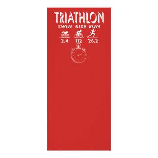 Triathlon Rack Card