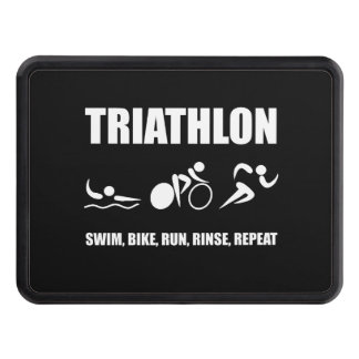 Triathlon Rinse Repeat Hitch Covers