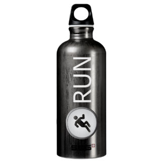 Triathlon RUN (slate) Aluminum Water Bottle