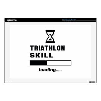 Triathlon skill Loading...... Laptop Skin