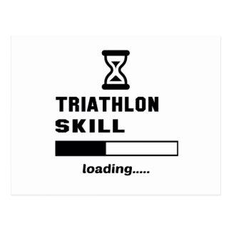 Triathlon skill Loading...... Postcard