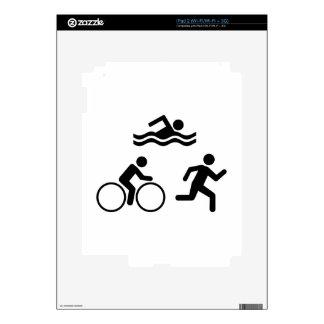 Triathlon Skin For iPad 2