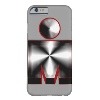 triathlon sports athletic steel metal design barely there iPhone 6 case