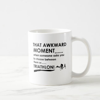 Triathlon Sports Designs Coffee Mug