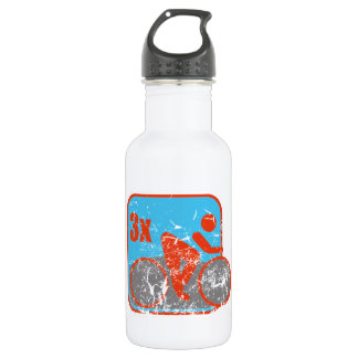 Triathlon Stainless Steel Water Bottle