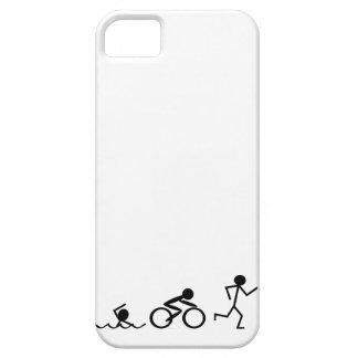 Triathlon Stick Figures iPhone 5 Cases