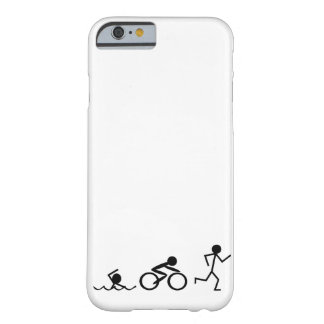 Triathlon Stick Figures Barely There iPhone 6 Case