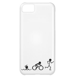 Triathlon Stick Figures iPhone 5C Case