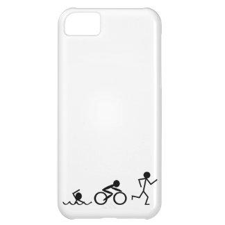 Triathlon Stick Figures iPhone 5C Case