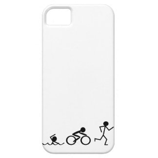 Triathlon Stick Figures iPhone SE/5/5s Case