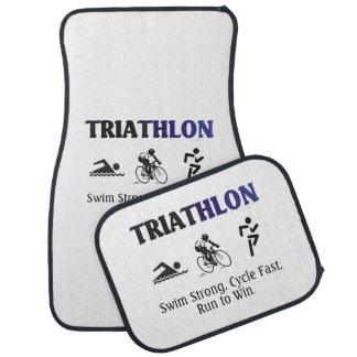 Triathlon SUPERIOR Alfombrilla De Auto