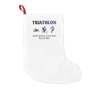 Triathlon SUPERIOR Calcetín Navideño Pequeño