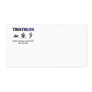 Triathlon SUPERIOR Etiqueta De Envío