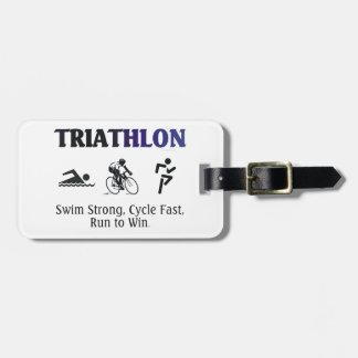 Triathlon SUPERIOR Etiquetas Para Maletas