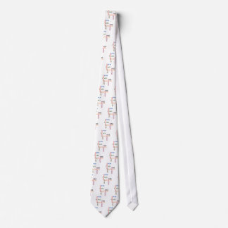 triathlon Swim Bike Run Blood Sweat Tears Neck Tie