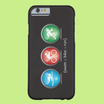 Triathlon Swim-Bike-Run iPhone 6 case (white)