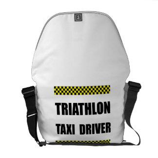 Triathlon Taxi Driver Courier Bag