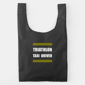 Triathlon Taxi Driver Reusable Bag