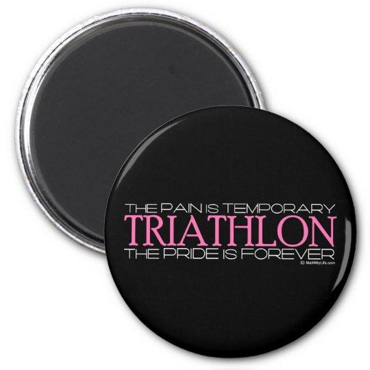 Triathlon – The Pride is Forever Magnet