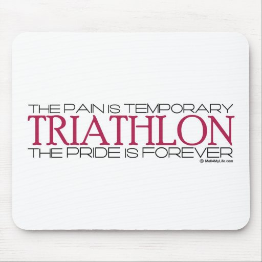 Triathlon – The Pride is Forever Mouse Mats