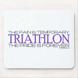 Triathlon – The Pride is Forever Mouse Pad