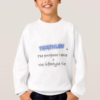 TRIATHLON - The purpose I serve Sweatshirt