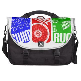 Triathlon TRI Color Blocks Laptop Computer Bag
