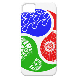 Triathlon TRI Yin Yang iPhone 5 Case-Mate Protectores