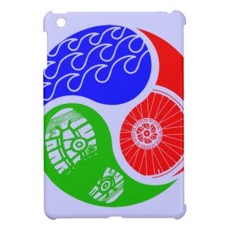 Triathlon TRI Yin Yang iPad Mini Cases