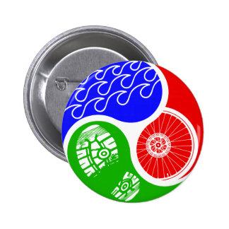 Triathlon TRI Yin Yang Pin