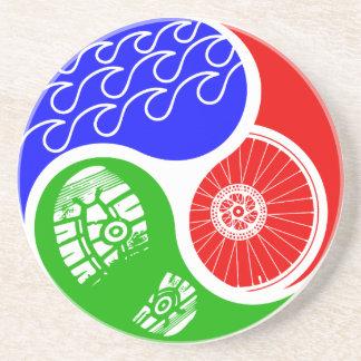 Triathlon TRI Yin Yang Posavaso Para Bebida