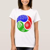 Triathlon TRI Yin Yang T-Shirt