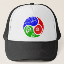 Triathlon TRI Yin Yang Trucker Hat