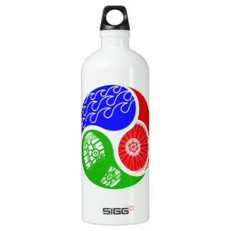 Triathlon TRI Yin Yang Water Bottle