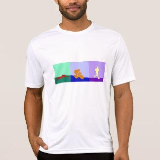 Triathlon Triptych T Shirt