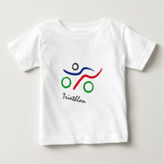 Triathlon unique logo best seller! baby T-Shirt