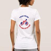 Triathlon United States T-shirt