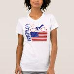 Triathlon United States T-shirts
