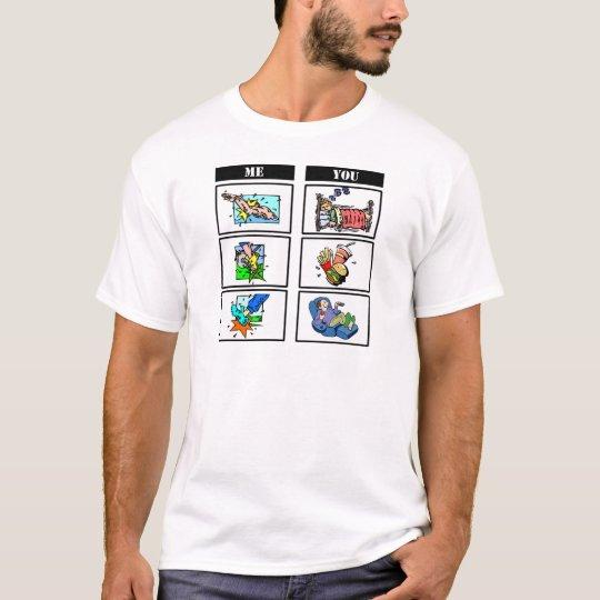 Triathlon vs. Sloth T-Shirt