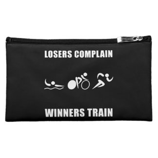 Triathlon Winners Train Cosmetic Bag