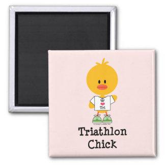 TriathlonChick Magnet