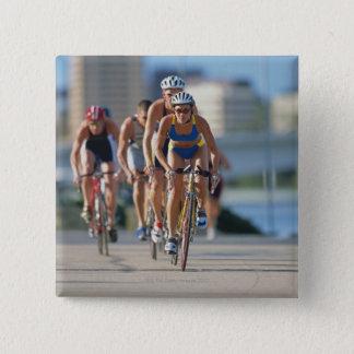 Triathloners Cycling 2 Pinback Button