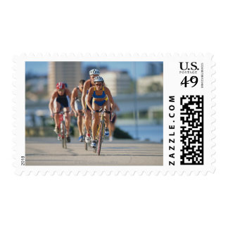 Triathloners Cycling 2 Postage