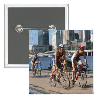 Triathloners Cycling Button