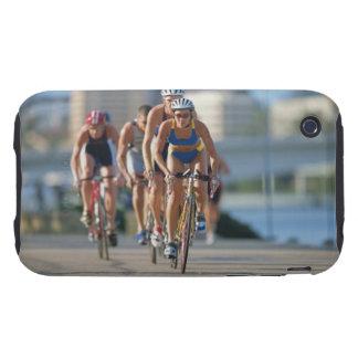 Triathloners que completa un ciclo 2 iPhone 3 tough coberturas