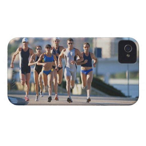 Triathloners que corre 5 Case-Mate iPhone 4 funda