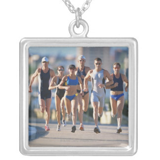 Triathloners que corre 5 colgantes