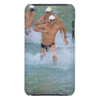 Triathloners Running out of Water 2 iPod Touch Case-Mate Case