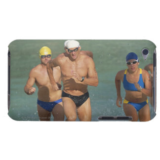 Triathloners Running out of Water 3 Case-Mate iPod Touch Case