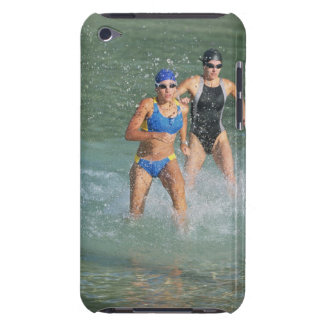 Triathloners Running out of Water iPod Case-Mate Case